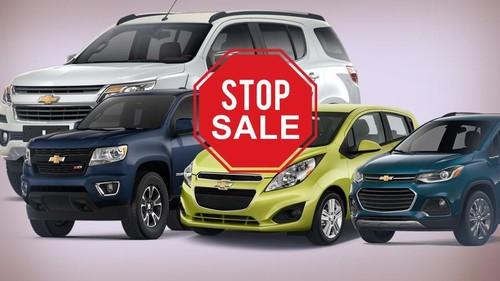 Chevrolet Stop Jualan di RI