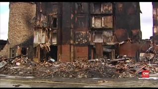 VIDEO: Hotel Berusia 117 Tahun di AS Hangus Terbakar