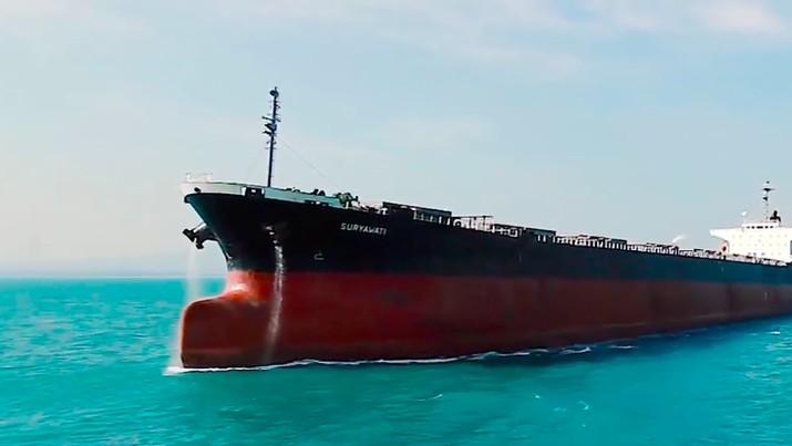 Bursa Efek Indonesia (BEI) menghentikan sementara (suspensi) perdagangan saham emiten jasa transportasi laut, PT Arpeni Pratama Ocean Line Tbk (APOL).