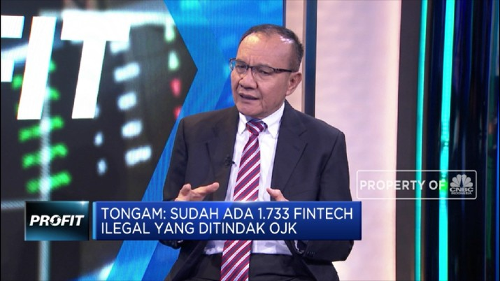 Tongam L. Tobing Ungkap Penyebab Maraknya Fintech Ilegal (CNBC Indonesia TV)