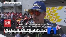 VIDEO: Duka Pembalap Dunia Untuk Afridza Munandar