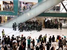 Protes Hong Kong Pukul Bisnis Taman Hiburan Disney