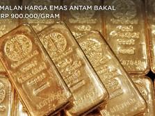 Ramalan Harga Emas Antam Bakal ke Rp 900.000/gram