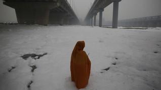FOTO: India Kembali Dihantui Polusi Udara