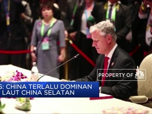 Amerika Tuding Dominasi China di Laut China Selatan