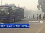 Polusi Udara di India, Ganjil Genap Diberlakukan