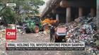 VIDEO: Viral Lautan Sampah di Kolong Tol Wiyoto Wiyono