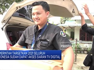 Indonesia Siapkan Pergantian Siaran ke TV Digital