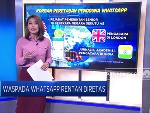 Waspada Whatsapp Rentan Diretas