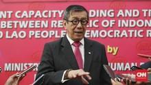 Menkumham Serahkan Draf Omnibus Law ke DPR Akhir Tahun