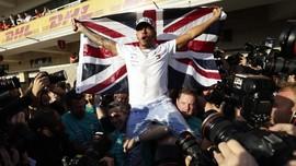 Juara F1, Hamilton Selangkah Lagi Samai Rekor Schumacher
