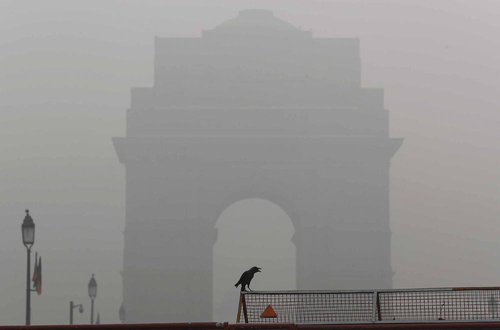Polusi udara di India memasukki tingkat berbahaya sampai aktivitas sekolah diperintahkan untuk dihentikan sementara.