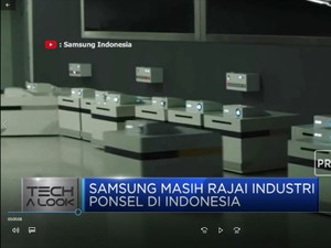 Samsung Masih Rajai Industri Ponsel di Indonesia