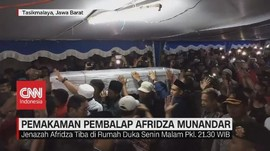 VIDEO: Ribuan Warga Hadiri Pemakaman Afridza Munandar
