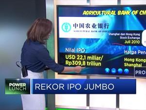 Rekor  IPO Jumbo