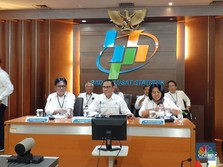 Live Now! BPS Umumkan Pertumbuhan Ekonomi Q3-2019