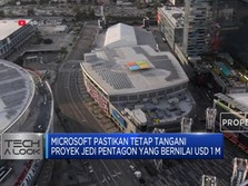 Microsoft Pastikan Tetap Tangani Proyek JEDI Pentagon