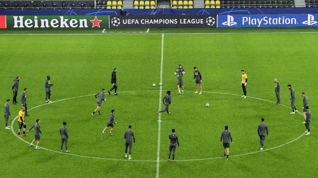 Inter Milan menyambangi Borussia Dortmund pada matchday keempat Liga Champions. (AP Photo/Martin Meissner)
