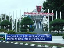 Rugi Bersih Krakatau Steel Membengkak Jadi USD 211,9 Juta