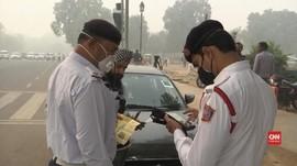 VIDEO: India Berlakukan Ganjil Genap Untuk Kurangi Polusi