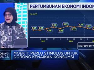 PDB RI Butuh Stimulus, Simak Pandangan Ekonom Berikut!