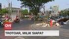 VIDEO: Revitalisasi Trotoar, Parkir Liar & PKL Kembali Marak