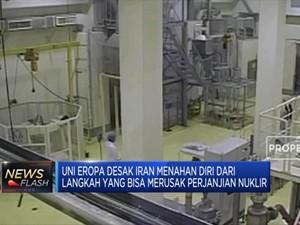 Abaikan Perjanjian, Iran Tingkatkan Produksi Uranium