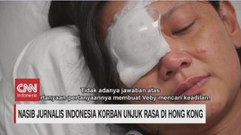 VIDEO: Nasib Jurnalis Indonesia Korban Unjukrasa di Hong Kong