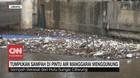VIDEO: Tumpukan Sampah di Pintu Air Manggarai Menggunung