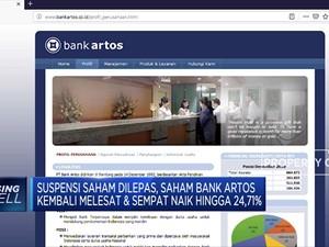 Mantap! Saham Bank Artos Kembali Melesat 24,71%