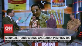 VIDEO: Menyoal Transparansi Anggaran Pemprov DKI (3/3)