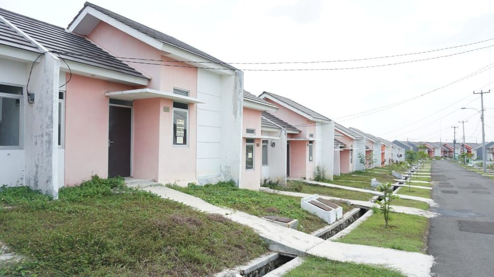 Berdasarkan laporan keuangan perusahaan PT Hanson International Tbk, secara kumulatif Citra Maja Raya telah membukukan uang muka atas pemesanan lebih dari 11 ribu unit rumah dan ruko. (CNBC Indonesia /Rahajeng Kusumo Hastuti)