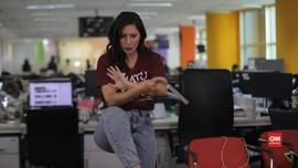 VIDEO: Jawab Netizen, Hannah Al Rashid Pamer Gerakan Silat