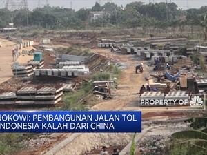 Jokowi: Jumlah Tol Indonesia Kalah dengan China