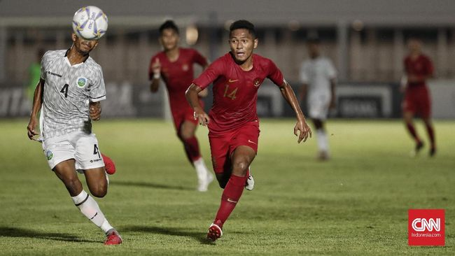 Timnas Indonesia U-19 Unggul Atas Timor Leste di Babak I