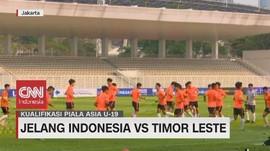VIDEO: Persiapan Jelang Timnas Indonesia U 19 Vs Timor Leste