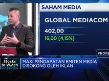 Analis: Pendapatan Iklan Jadi Penopang Kinerja Emiten Media