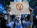 Pedemo Hong Kong Kembali Aksi dan Sambangi Konsulat AS