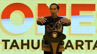 Jokowi Pastikan Pemangkasan Eselon Tak Ganggu Gaji PNS
