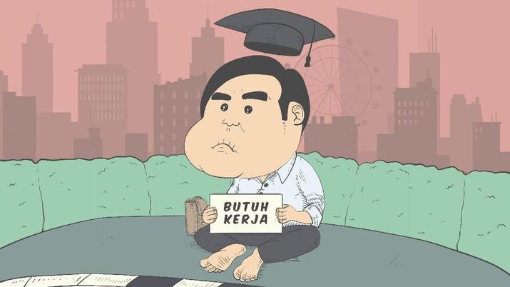 Skema 'mengaji' pengangguran melalui Kartu Pra Kerja yang dijanjikan Joko Widodo (Jokowi) selama masa kampanye mulai terlihat terang.