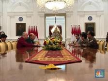Usai Temui Airlangga, Mendag AS Menghadap Jokowi