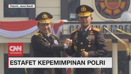 VIDEO: Estafet Kepemimpinan Polri