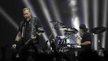Metallica Batalkan Konser demi Dukung Kesembuhan Vokalis