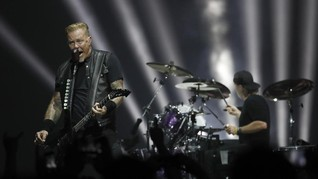Metallica Kembali Bantu Penanggulangan Karhutla California