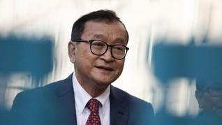Oposisi Kamboja akan Pulang, Dilarang Singgah di Thailand