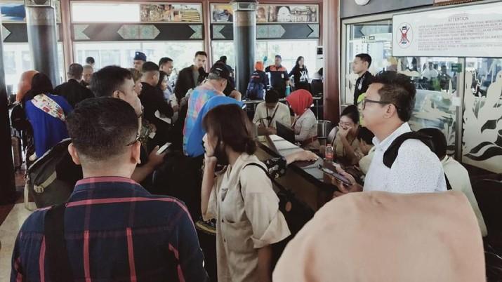 Banyak penumpang Sriwijaya Air tak bisa terbang di tengah kongsi antara PT Sriwijaya Air dan PT Garuda Indonesia Airlines Tbk (GIAA) yang kembali retak.
