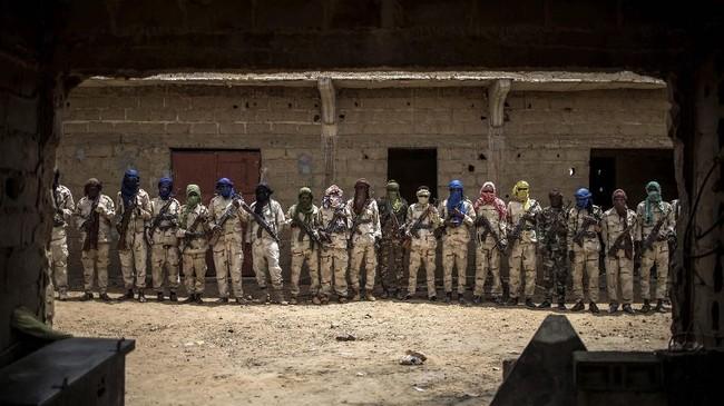 Konflik jihadis yang terjadi di Mali utara pada 2012 telah memicu kebencian etnis dan kekhawatiran terhadap masa depan negara.(Photo by Marco LONGARI / AFP)