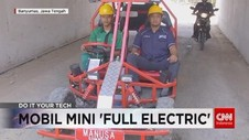VIDEO: Mobil Mini 'Full Electric' Karya Siswa SMK NU 1 Maarif