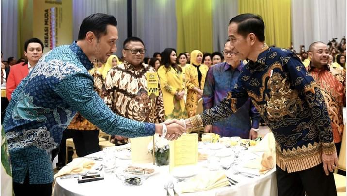 Pertemuan tersebut merupakan yang pertama selepas Jokowi dilantik sebagai presiden periode 2019-2024.
