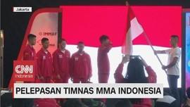VIDEO: Pelepasan Timnas MMA Indonesia di Bahrain